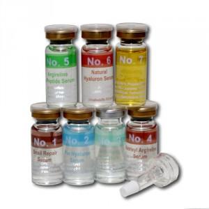 Serum für die nicht-invasive, schmerzfreie, nadellose Mesotherapie - pflanzliche Wirkstoffe