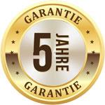 5 Jahre Garantief
